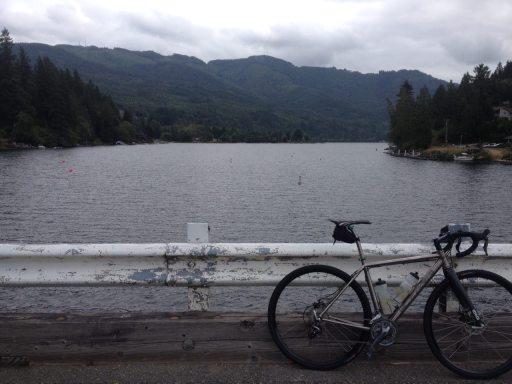 bridge, Lake Padden, Bellingham, Washington