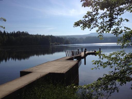 dock, Lake Padden, Bellingham, Washington