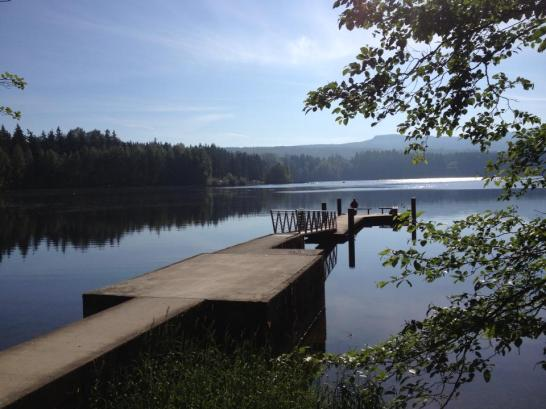 dock, Lake Padden, Bellingham, Washington