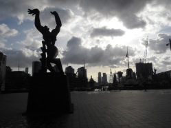 The Destroyed City by Ossip Zadkine, Rotterdam, the Netherlands