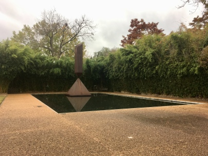 Barnett Newman, Broken Obelisk, for Martin Luther King, Jr.