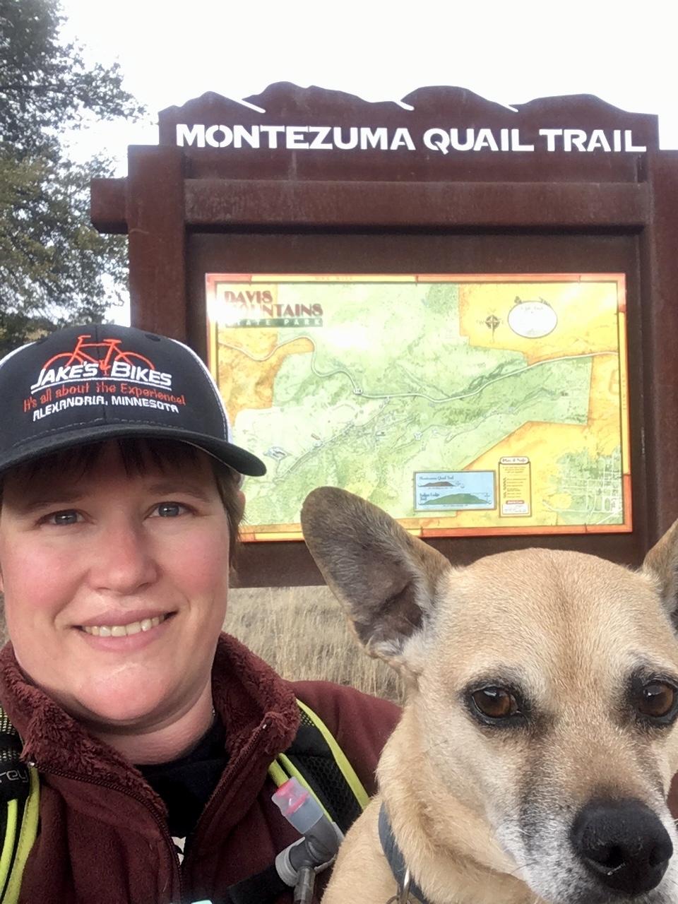 exiting Montezuma Quail