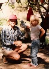 Julia and Karen, Gila, 1985