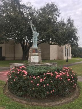 mini Liberty at Gates Library