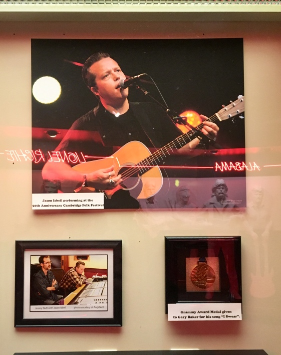 Isbell is not inducted - YET - but he got a mention right by the front door.