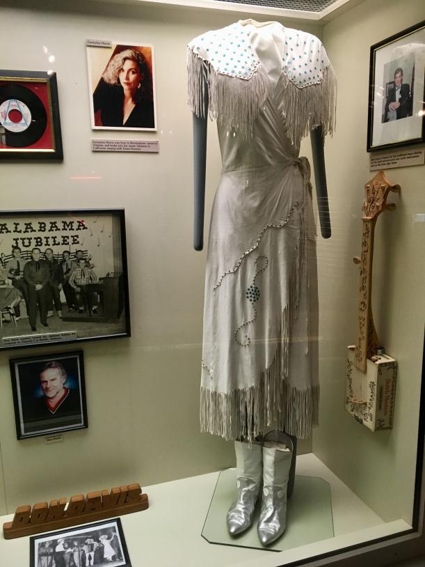 dress worn by Emmylou Harris