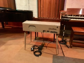 the Wurlitzer where Spooner Oldham added the licks to hits by Percy Sledge and Aretha Franklin