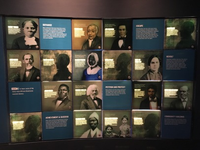 Dred Scott, Sojourner Truth, Harriet Tubman: the big names
