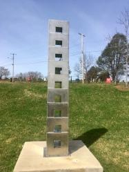 """Stepped Tower,"" Larry Millard"