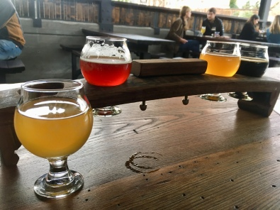 another sour flight - this town is lousy with breweries!