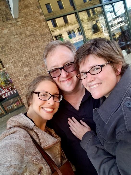 with Jessie and Doug