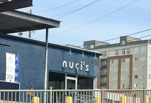 Nuci's Space, just happened to drive by, glad I didn't miss it
