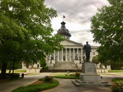 state grounds from what I'm calling the rear - way to be proud of Strom Thurmond