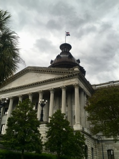 the dome where the Confederate battle flag flew until 2000