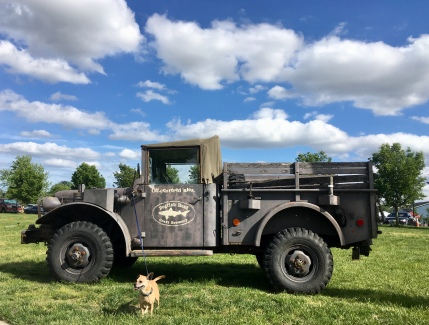 Hops meets the Dogfish truck