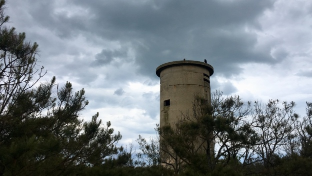 WWII observation tower