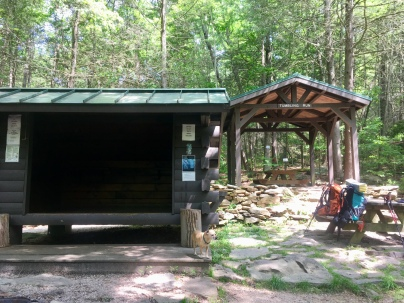 Tumbling Run shelter