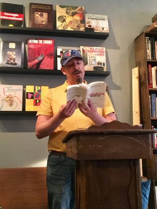 Matt reads