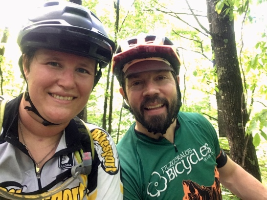 pre-riding race trails with CT