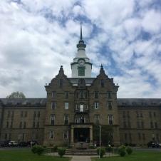 Trans-Allegheny Lunatic Asylum (TALA), front entrance