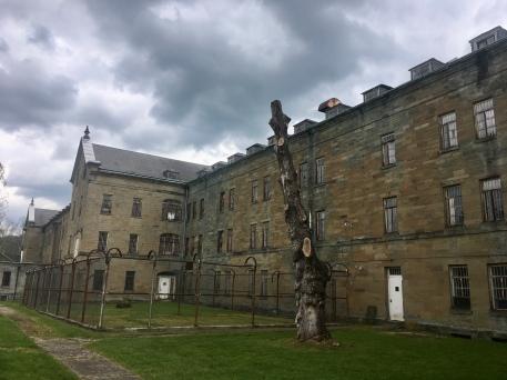 prison yard at TALA